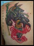 Anubis Tupelo Tattoo