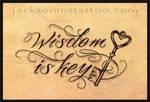 wisdom is key