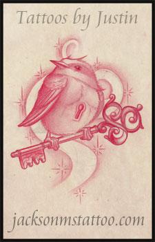 birdie by jacksonmstattoo