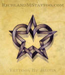 star heart tattoo design by jacksonmstattoo