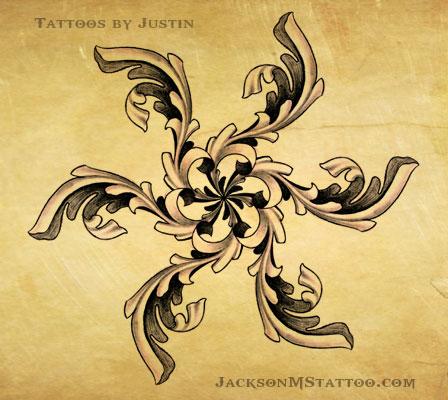 ornate star tattoo design by justin by jacksonmstattoo on deviantart. Black Bedroom Furniture Sets. Home Design Ideas