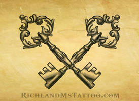 key tattoo jackson ms by jacksonmstattoo
