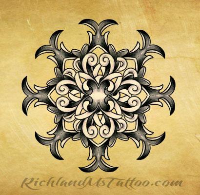 mandala tattoo design jackson ms by jacksonmstattoo on deviantart. Black Bedroom Furniture Sets. Home Design Ideas