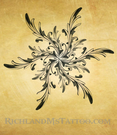 ornate star tattoo design by justin by jacksonmstattoo on deviantart. Black Bedroom Furniture Sets. Home Design Ideas