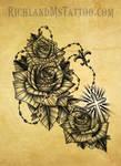 Rosary Tattoo Mississippi