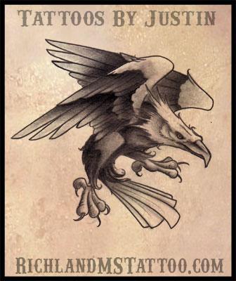 Eagletattoorichlandms by jacksonmstattoo