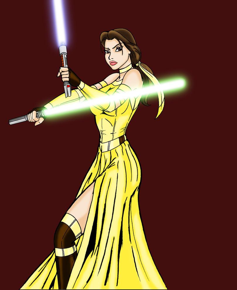 Jedi Wallpaper: Jedi Belle By NightingaleHale On DeviantArt