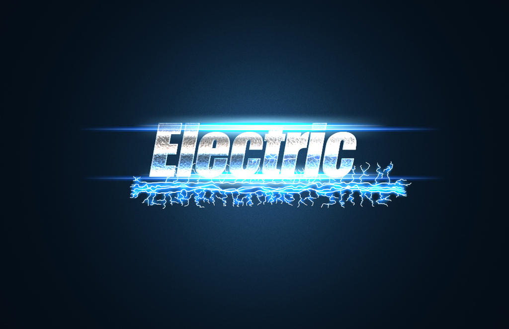 Electric Text by DarthHaven