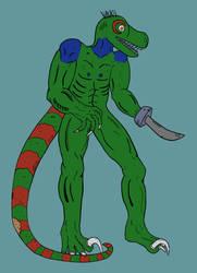 Man-Raptor by DarthHaven
