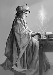 The scholar by Revinda