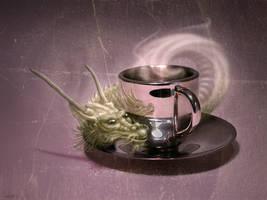 Espresso Dragon by M-Amey
