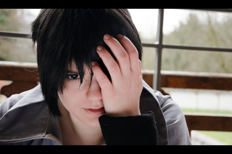Sasuke - My eye by oOoNaruto-chanoOo