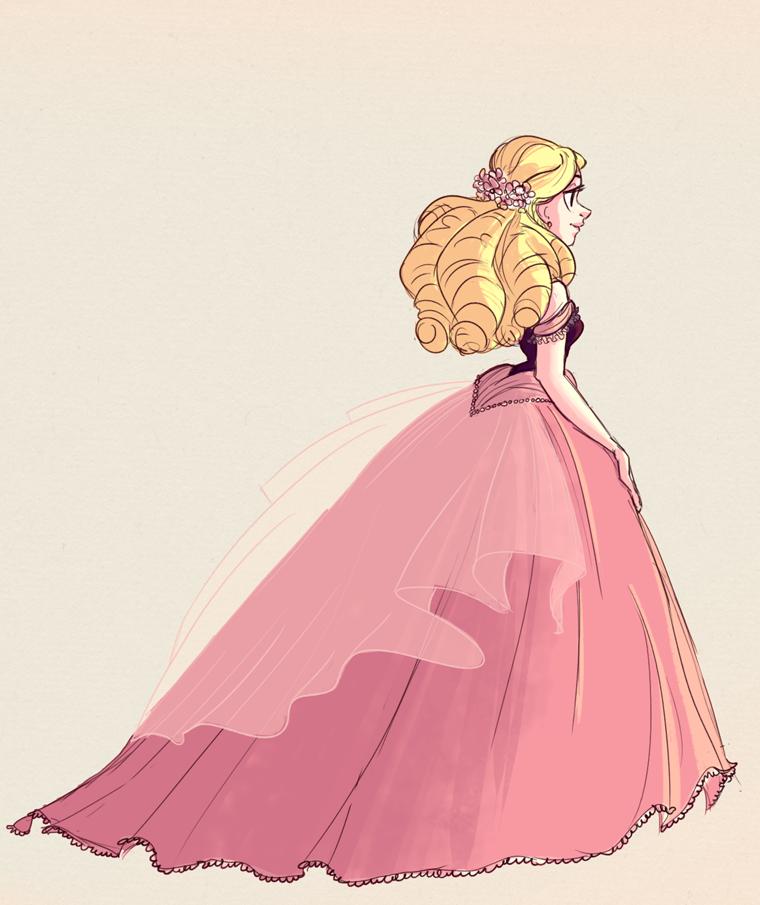 Pink Dress By Snarkies On DeviantArt
