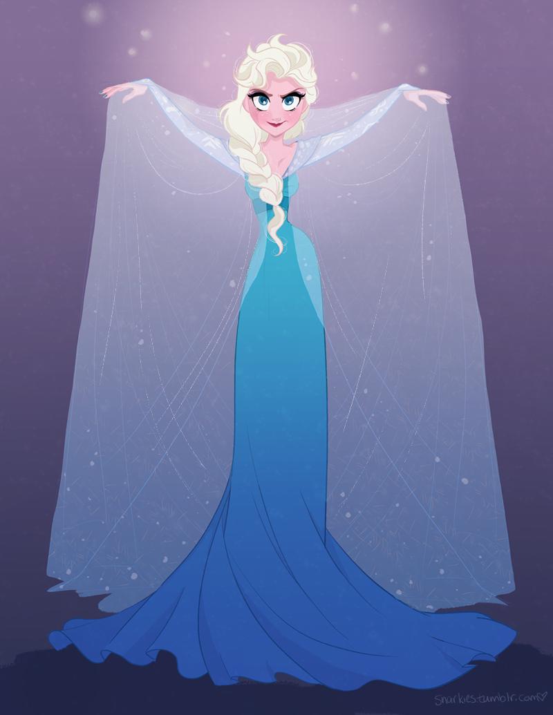 Elsa by snarkies