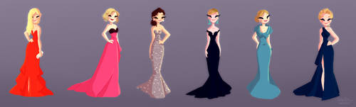 Golden Globes by snarkies