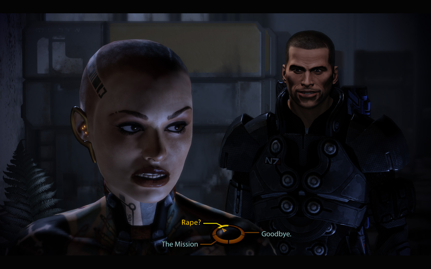 Mass Effect Shepard Rape Face By Ironytaken On Deviantart
