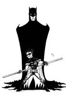 BATMAN AND ROBIN by POWERSMITH2