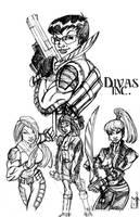 Divas Inc. by POWERSMITH2