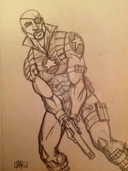 Nick Fury of S.H.I.E.L.D.