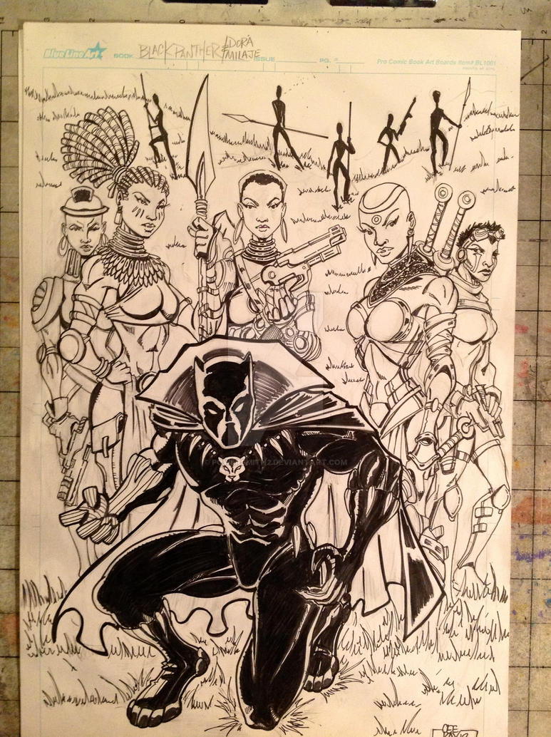 Black Panther: King of Wakanda by POWERSMITH2