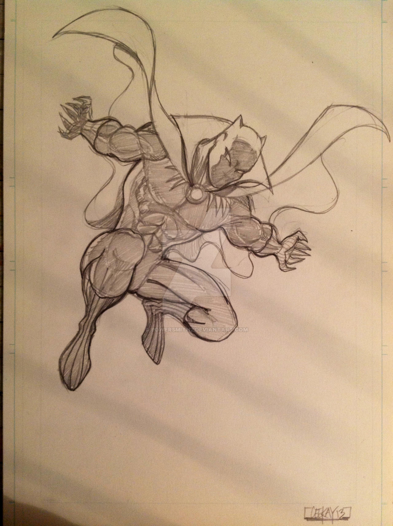 Black Panther leap by POWERSMITH2