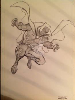 Black Panther leap
