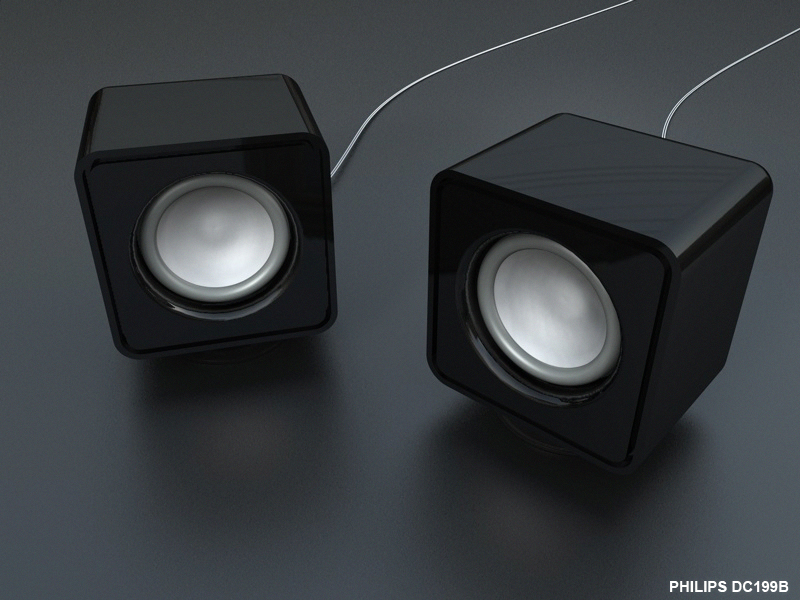 Philips Speaker modeling by Diastro