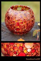 autumn color vase by SunshineLiarRF