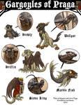 Gargoyles of Praga