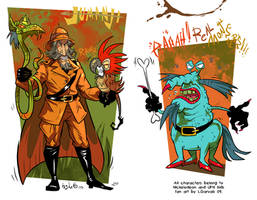 Van Pelt and Gromble by Garvals