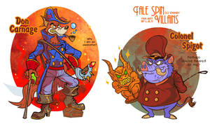 Tale Spin Villains