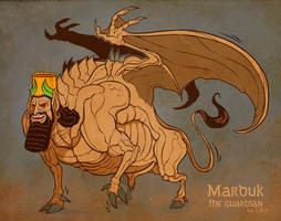 Marduk the Guardian by Garvals