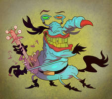 Guitar Gromble by Garvals