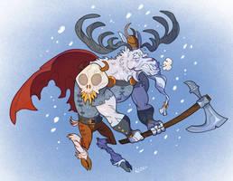 Moose Viking by Garvals