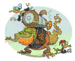 Turbolizards by Garvals