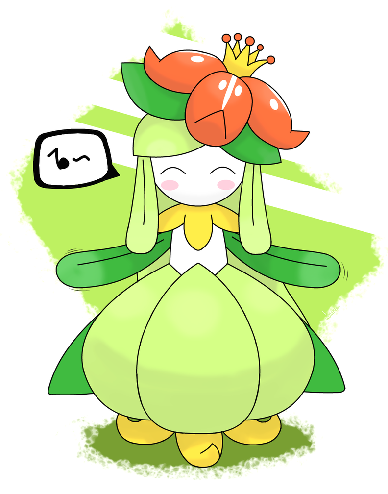Lilligant by hoyeechun on DeviantArt