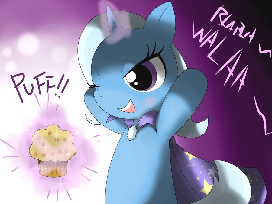 mlp magic is muffin by hoyeechun