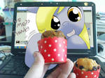 give you muffin~
