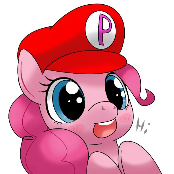 pinkie mario=pinkierio by hoyeechun