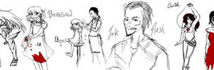 Slaughterhouse 9 sketchdump