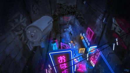 Noir-Street Lights
