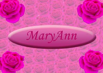 MaryAnn by snowraevyn