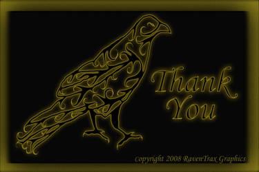 Thank You Logo by snowraevyn