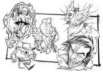 Various Tattoo Flash
