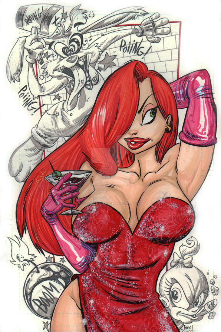 jessica rabbit by illustrated1