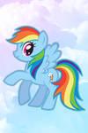 Rainbow Dash iPhone Wallpaper
