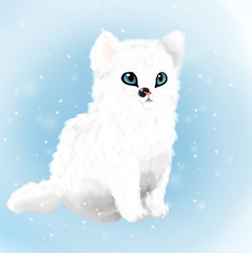 Kittyyy by RoxyPuppyGirl