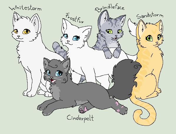 Fav cats so far by RoxyPuppyGirl