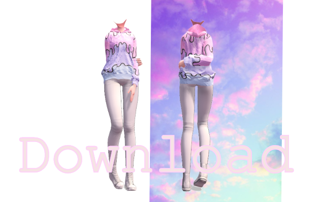 MMD || Outfit base || 5 || DOWNLOAD || by TostTostowy on