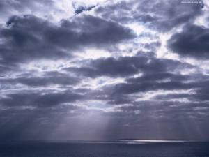 Cloudbank over Robben Island 2